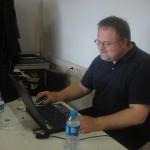 AA EmTech/ETH tutor Toni Kotnik working